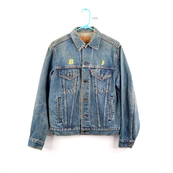 Vintage 80s Levis 70506 0216 Denim Jacket USA